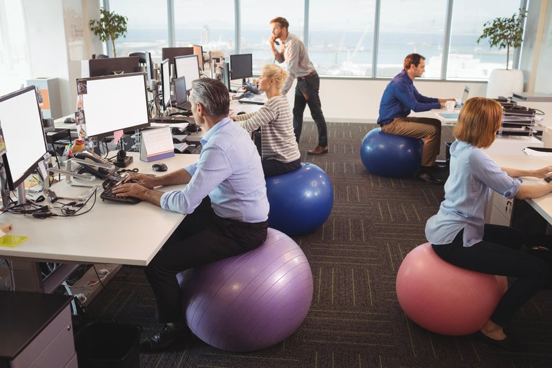 Unique Ideas to Promote Health While Working in an Office