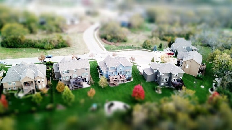 Miniature Neighborhood Street