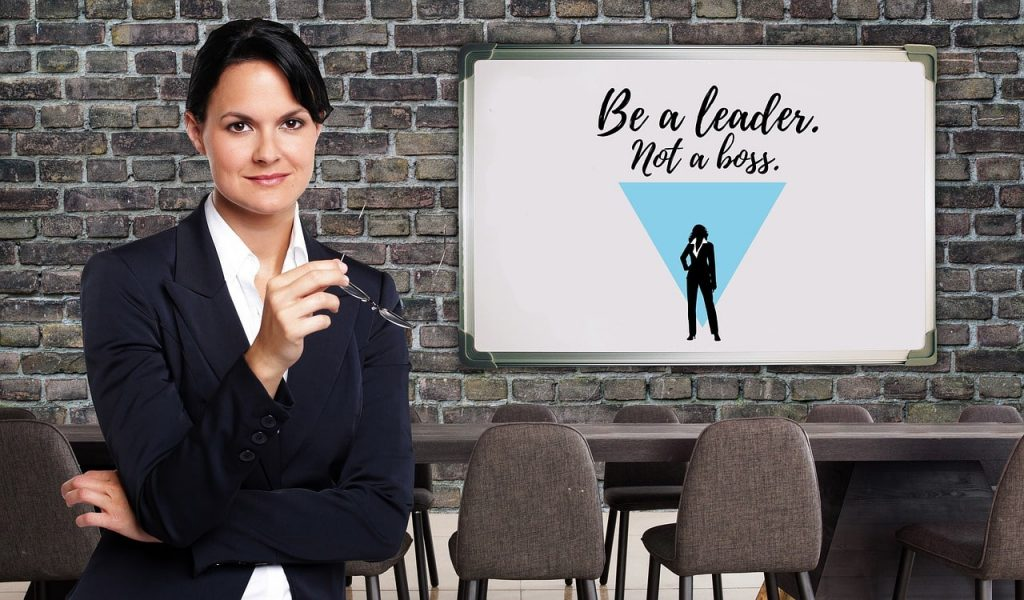 "Women Lead ""Be a Leader, Not a Boss"""