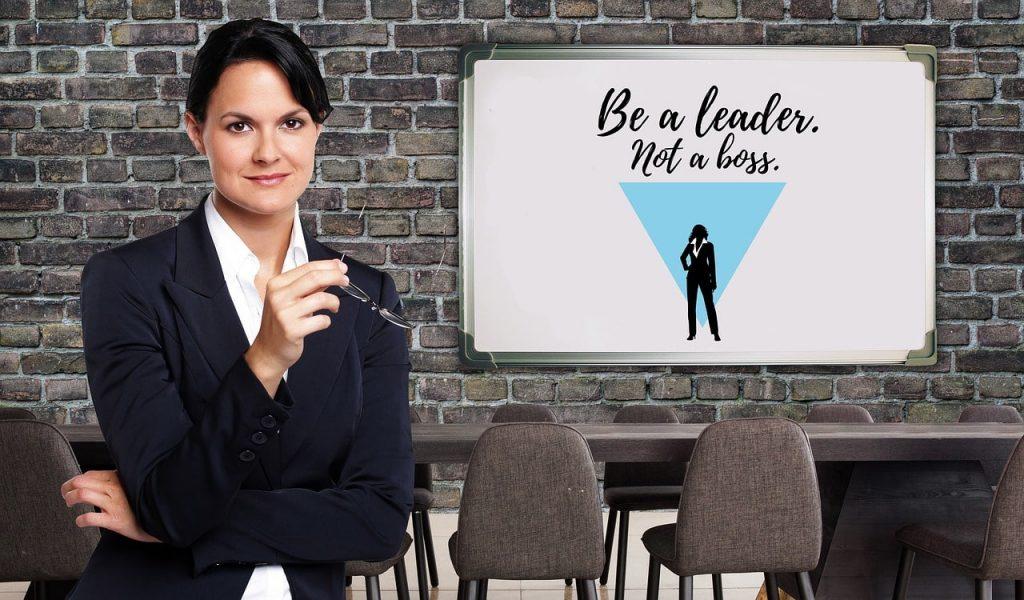 "Women Lead ""Be a Leader, Not a Boss"""