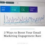 5 Ways to Boost Your Email Marketing Engagement Rate